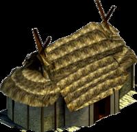 Gallic library longhouse