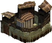 Gallic fort