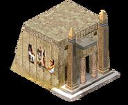Temple egypt uthum