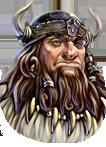 Face barbarian Odin