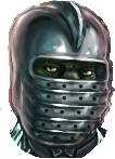 Скорц в шлеме