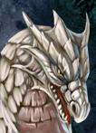 Cface dragon white