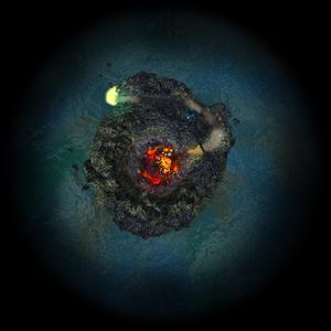 Radar turtle island