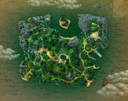Map seaelf island