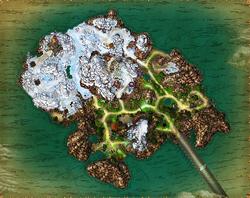 Map montero