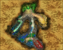 Map catacombs