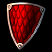 Щит из шкуры красного дракона