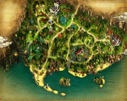 Verlon Forest map
