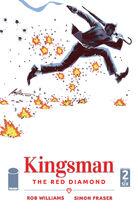 KingsmanTheRedDiamond Issue 2 cover