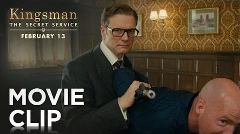 "Kingsman The Secret Service ""Bar Fight"" Clip HD 20th Century FOX"