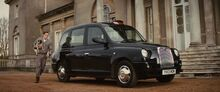 Kingsman taxi