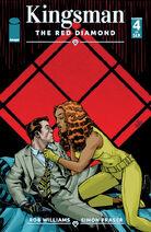 KingsmanTheRedDiamond Issue 4 cover