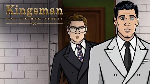 TBT to That Time Archer Met Kingsman