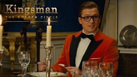 "Kingsman The Golden Circle ""Dinner Guest"" TV Commercial 20th Century FOX"