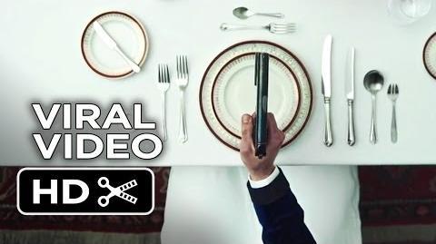 Kingsman The Secret Service VIRAL VIDEO - Dinner Etiquette (2015) - Michael Caine Movie HD
