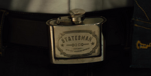 Statesman Flask belt buckle