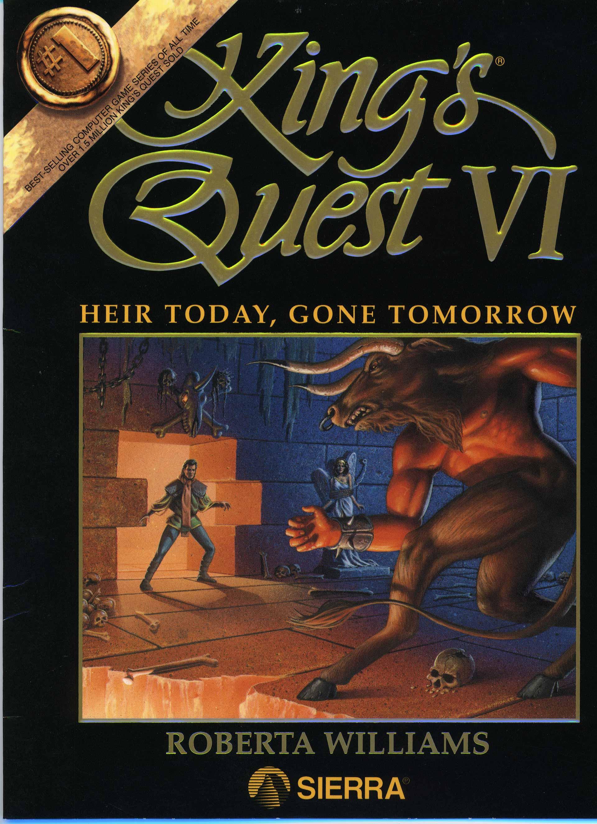 King S Quest Vi Heir Today Gone Tomorrow King S Quest Omnipedia Fandom