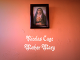 Nicolas Cage Mother Mary
