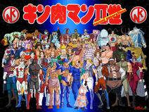 Kinnikuman Nisei Wallpaper by Cepillo16