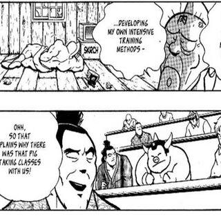 King ton's cameo in  nisei