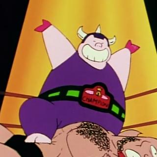 King Ton in the anime