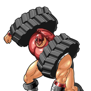 Max Redial coloured (Kinniuman Muscle Shot)