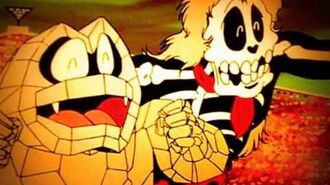 Kinnikuman - Kinkotsuman skull duggery's theme Kinkotsu elegy