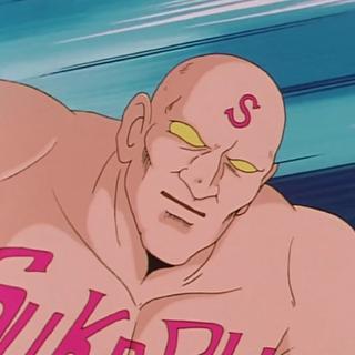 Skull Bozu in the anime