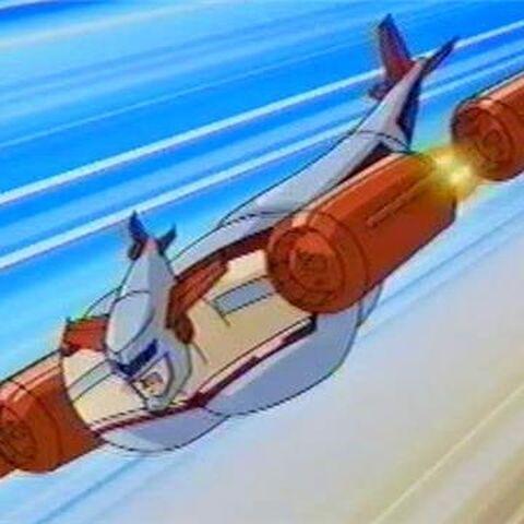 Comrade Turbinski in the anime