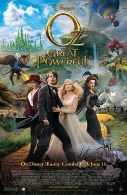 Oz the great and powerfulprintposterwdshe worldwide