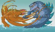 C-Rex vs Zilla