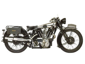 Brough Superior SS100 Alpine Grand Sport 1930