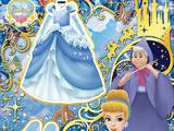 Romantic Blue Princess Coord