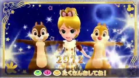 ミッキーマウスマーチ マジックキャッスルver. チップ&デール(ドリームナイトステージ)♪5