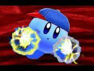 Cute Blue ESP Kirby