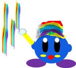 Rainbow kirby