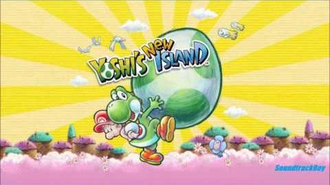 Yoshi's New Island Music - 2 Title Screen