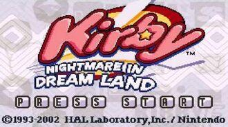 Yogurt Yard - Kirby Nightmare in Dream Land