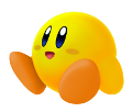 SSBU Yellow Kirby artwork