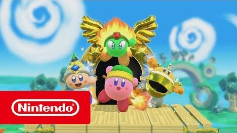 Kirby (título provisional) - Tráiler del E3 2017 (Nintendo Switch)