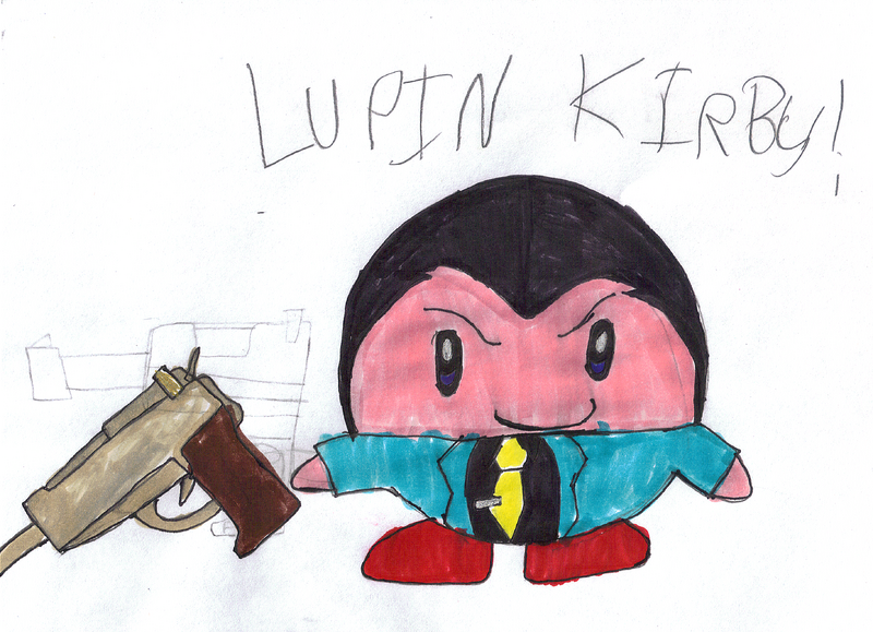 Lupin Kirby by Needlemouse