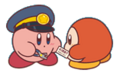 Pupupu Train Kirby