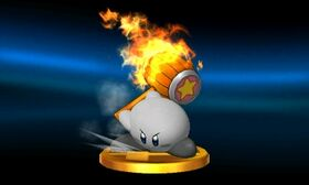 SSB3DS Kirby (Alt) Trophy
