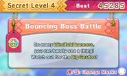 DDDD Bouncing Boss Battle secret