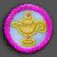 神灯徽章01 毛线卡比