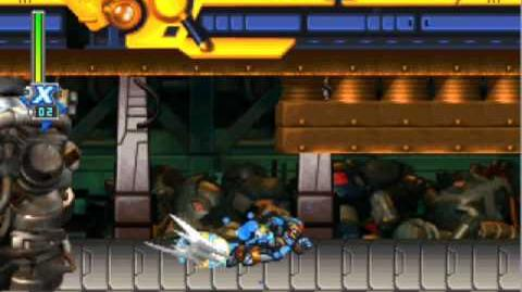Megaman X6-Gameplay with shadow armor, metal shark player´s stage, awesome songs!