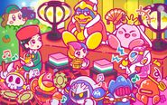 Kirby 25th Anniversary artwork 15