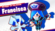 Francisca Splash Screen (Rematch)
