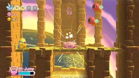 Kirby's Return To Dreamland - Nutty Noon ~ Stage 3 -HD-