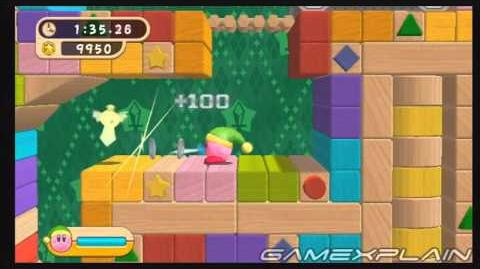 Kirby's Return to Dreamland Sword Challenge - Platinum Medal Guide, Walkthrough
